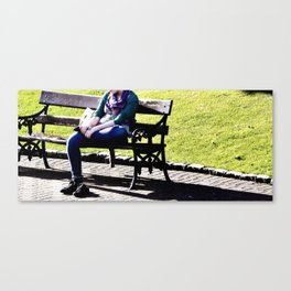 Walking all day Canvas Print