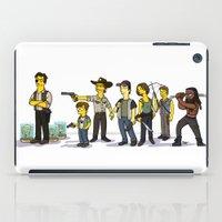 walking dead iPad Cases featuring The Walking Dead cast by Adrien ADN Noterdaem