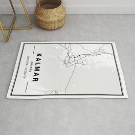 Kalmar Light City Map Rug