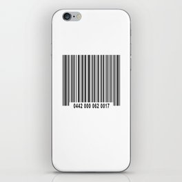 Barcode #1 iPhone Skin