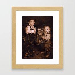 Babes! Framed Art Print