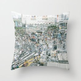 Shibusy Shibuya Throw Pillow