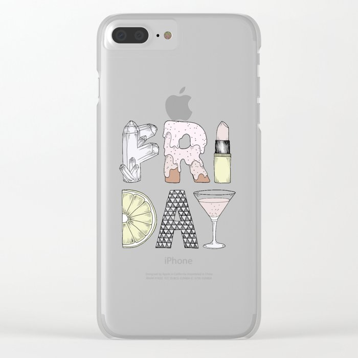 Friday Clear iPhone Case