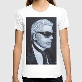 Karl Lagerfeld by chalk T-shirt