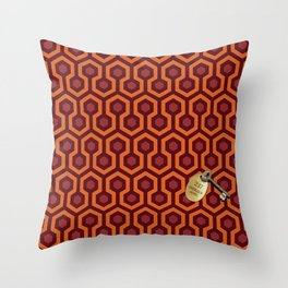 Shining Hotel Room 237 Throw Pillow