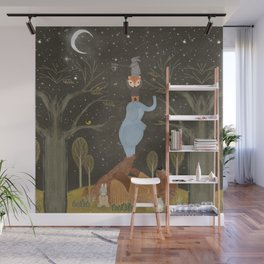 catching falling stars Wall Mural