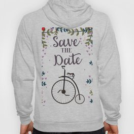 Save the Date Penny Farthing Hoody