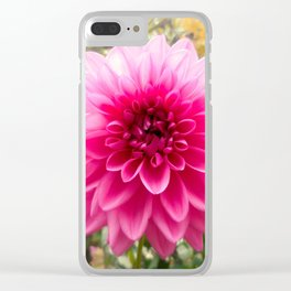 Flower of Spite Clear iPhone Case