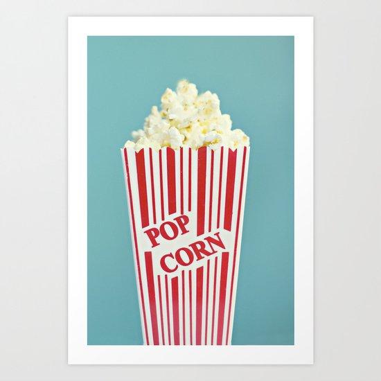 Pop Corn Art Print