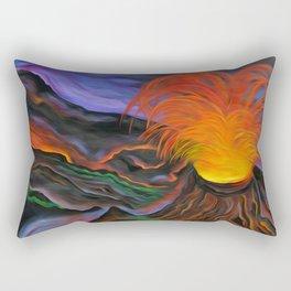 Madame Pele Rectangular Pillow