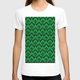 Green Leaves Triangle T-shirt