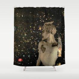 Metatron Shower Curtain