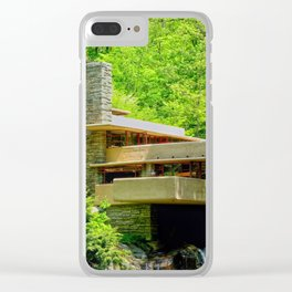 Frank Lloyd Wright | architect | Fallingwater Clear iPhone Case
