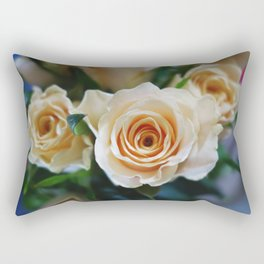Rose Pattern #2 Rectangular Pillow
