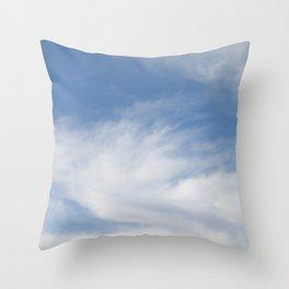 Just Clouds #3 Throw Pillow