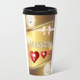 Allison 01 Travel Mug