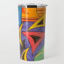 Fragmented (aka 3:43am) Travel Mug