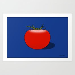 The Big Tomato Art Print