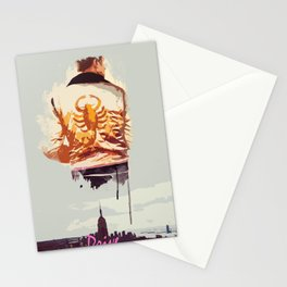 THROUGH THE NIGHT Stationery Cards