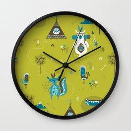 Camp Wichita Boys Wall Clock