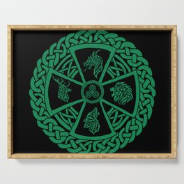 Celtic Nature 2 Serving Tray