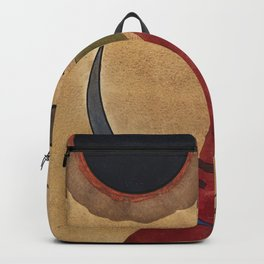 Wassily Kandinsky - Rot In Spitzform Backpack