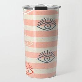 honest eyes Travel Mug