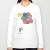 party Long Sleeve T-shirts featuring Party Girl by Cassia Beck
