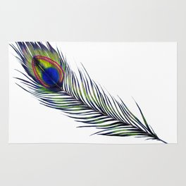 The Peacock's Feather Rug