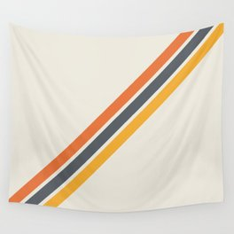Classic Retro Stripes 03 Wall Tapestry