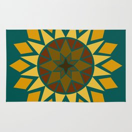 Native Sunflower Rug