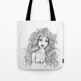 JennyMannoArt Graphite Drawing/Arianna Tote Bag