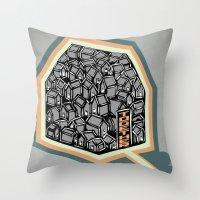 community Throw Pillows featuring Community by Scott Erickson