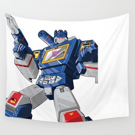 Soundwave x MrWetpaint Wall Tapestry