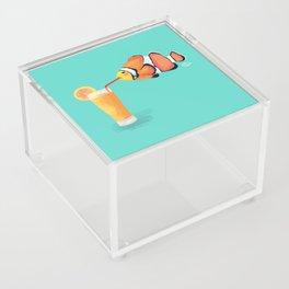 The Clown Fish Drinks Acrylic Box