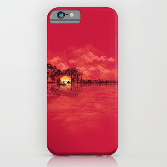 Musical Sunset iPhone & iPod Case