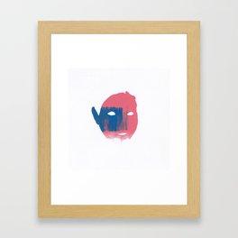 Scarred Framed Art Print