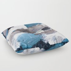 abstract painting VI Floor Pillow