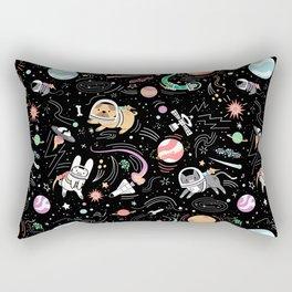 Space Pets Rectangular Pillow