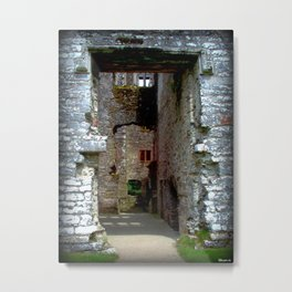 Doorways and Windows Metal Print