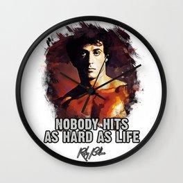Rocky Balboa - Sylvester Stallone Wall Clock