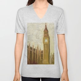 British Parliament DPAR170414b Unisex V-Neck