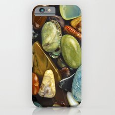 Jewel of the Little Gems - well actually polished stones...... Slim Case iPhone 6s