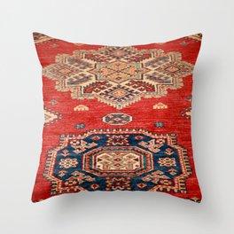 Natural Dyed Handmade Anatolian Carpet Throw Pillow