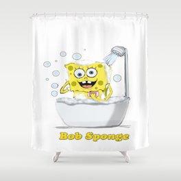 Bob Sponge Shower Curtain