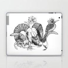 The ramskull and bird Laptop & iPad Skin