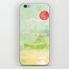 Snow House iPhone & iPod Skin