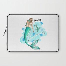 Pisces Mermaid Laptop Sleeve