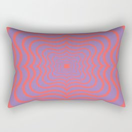 Optical web Rectangular Pillow