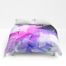 Replica - Geometric Abstract Art Comforters